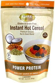 Instant Hot Cereal, Power Protein, Certified Paleo, Grain and Gluten-free, 16.4 Oz