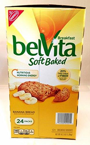 Belvita Breakfast Soft Baked Banana Bread(24 Pack)