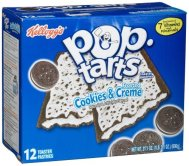 Pop-Tarts Frosted Cookies & Cream-12Count