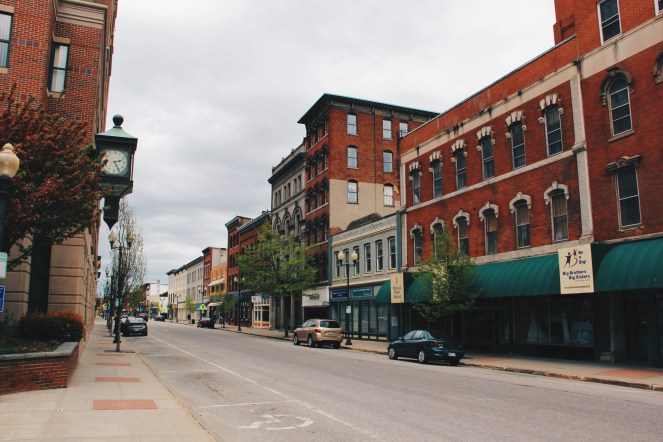 Augusta Maine, Maine Streets photography