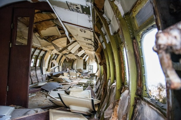 interior-of-crashed-plane