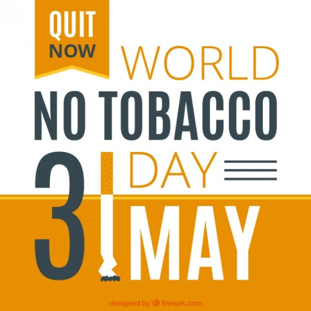 world no tobacco day quit smoking start sleeping better