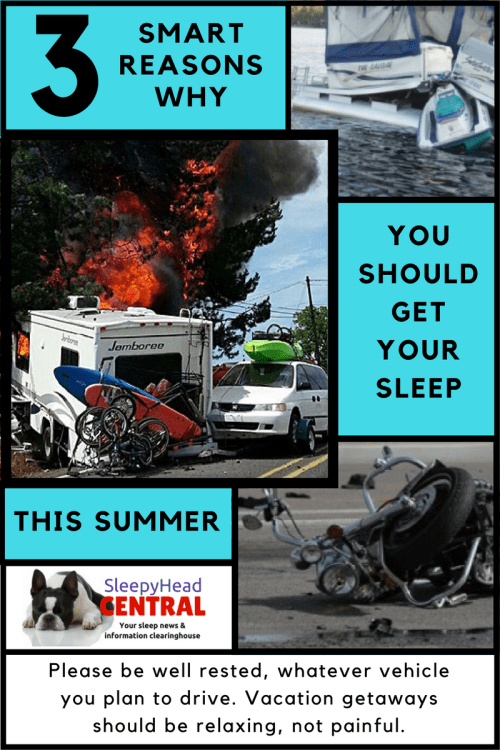 drowsy driving and recreational vehicles