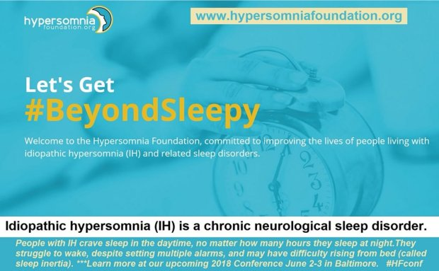 beyond sleepy baltimore hypersomnia foundation