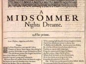 shakespeare midsummer nights dream vitamin zzz