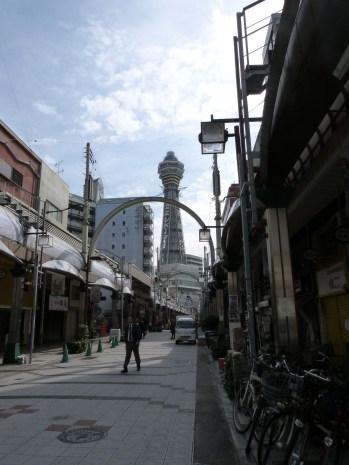 Rue du Shin-sekai de jour