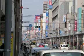Allée principale de l'Electric Town