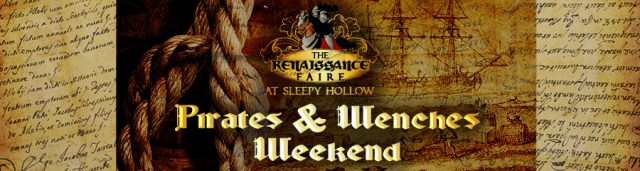 Renaissance Faire at Sleepy Hollow Weekend 3 - Pirates & Wenches