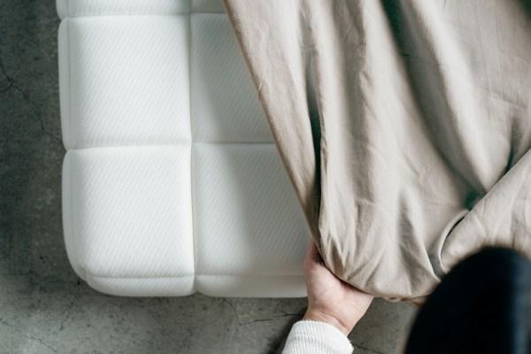 眠豆皮薄墊床包|90 x 200
