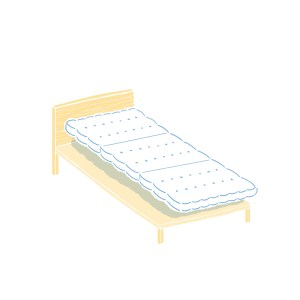 眠豆皮薄墊|IKEA 90 x 200