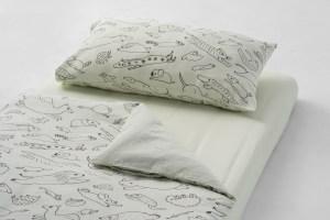 雙層紗(豆皮專用)/床包+枕套+被套/單人加大