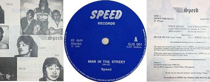 "Ultra RARE Speed 7"" single."