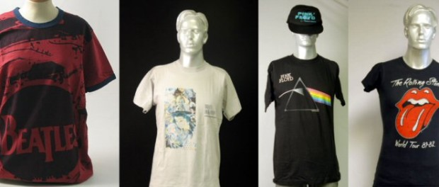 Just a small selection of some of the t-shirts we have available...