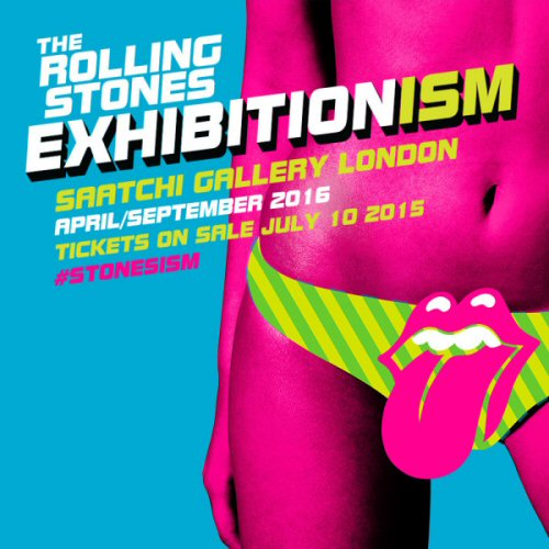 Rolling Stones announce London Exhibition at Saatchi Gallery!