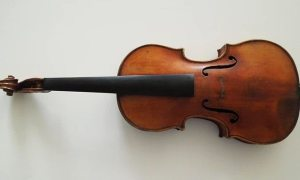 A picture showing the newly discovered Violin!