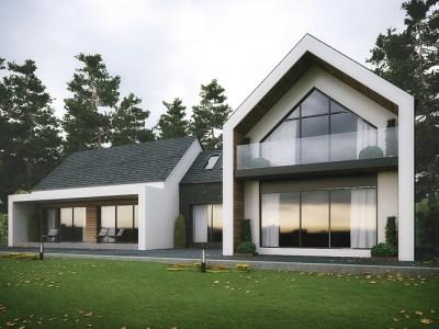 Modern Dromintee House