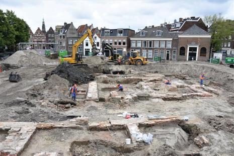 Garenmarkt opgraving (1)