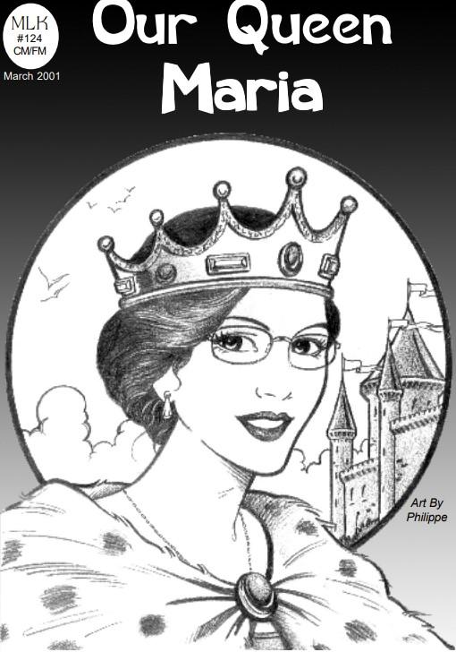 Karen Zerby comic: Our Queen Maria