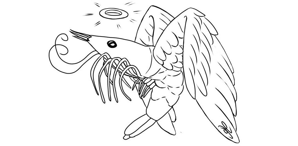 Shrimp angel