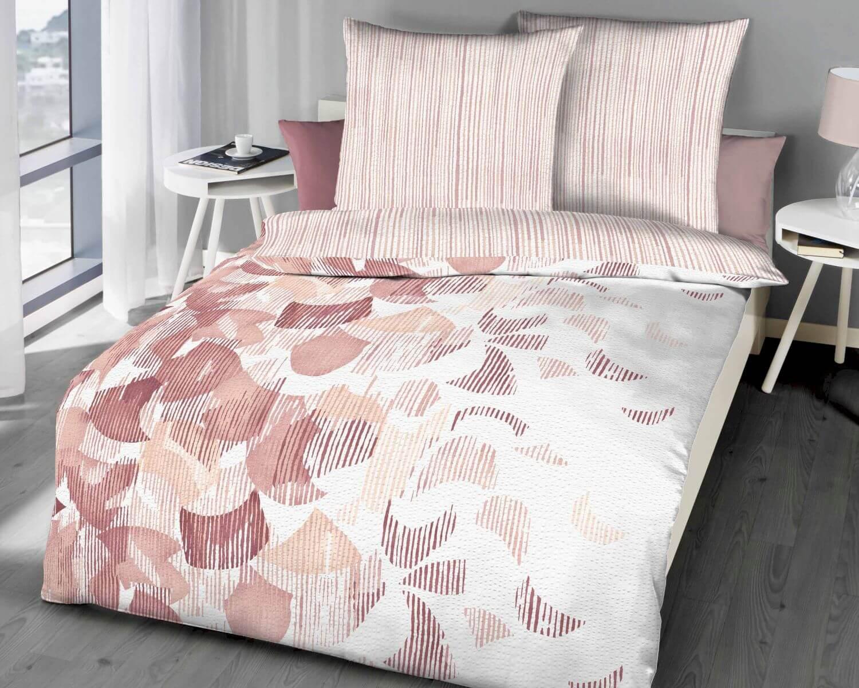 Seersucker Bettwäsche Baumwolle Reißverschluss Bettwäsche