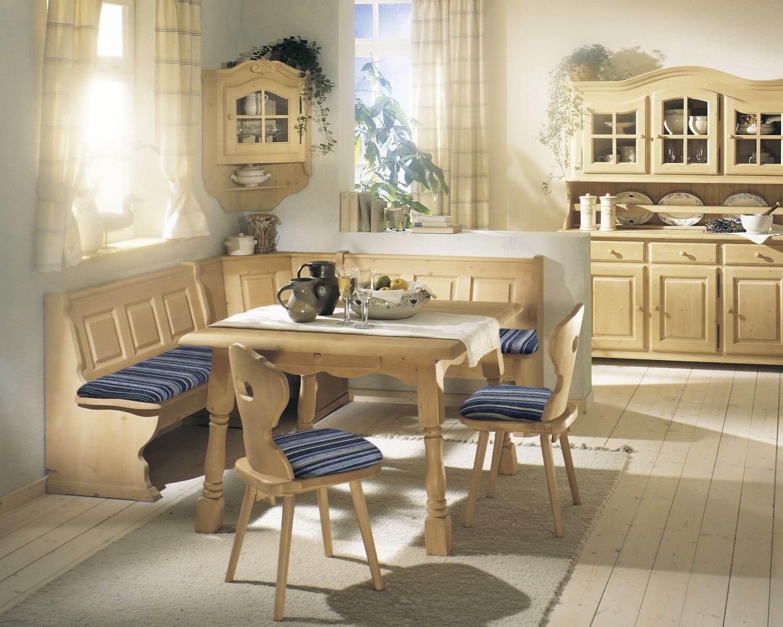 Eckbank Und Stühle Bestseller Shop Für Möbel Und Kleines Schlafzimmer Mit  Dachschräge Einrichten Holzküche Eiche Modern