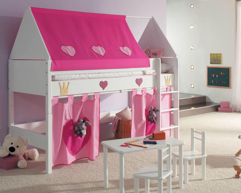 Taube Kinderzimmer Prinzessin Hochbett Bei • Slewocom