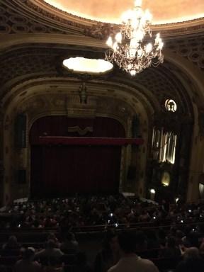 Chandelier at the Midland Theatre Kansas City