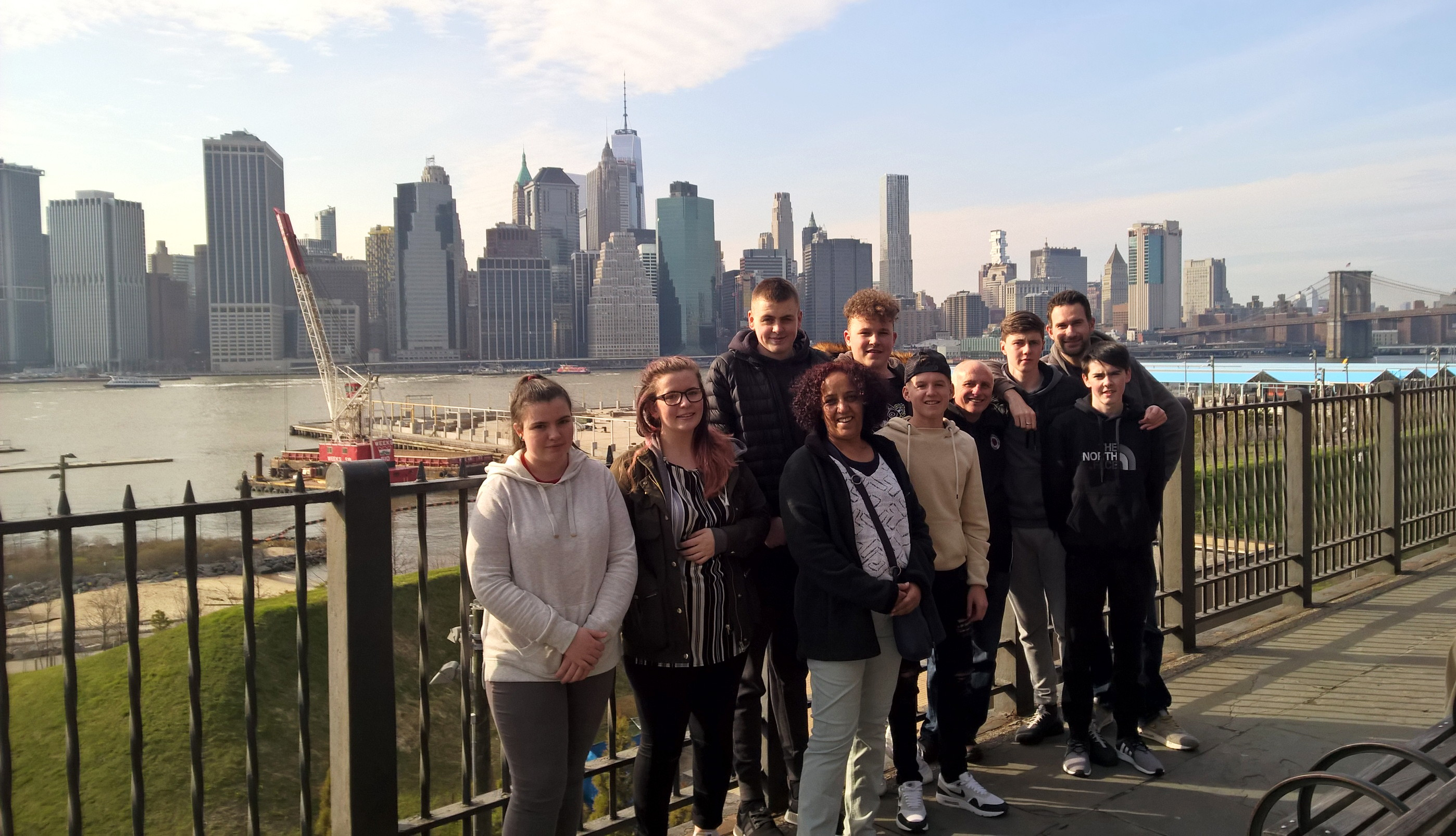 Visit to New York by Salford Lads & Girls