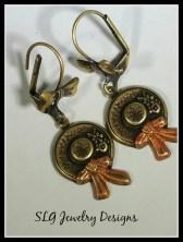 Hat earrings