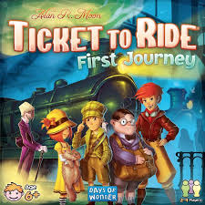 Ticket to Ride: First Journey U.S.A Image