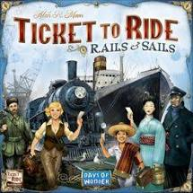 Ticket to Ride: Rails and Sails Image