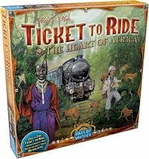 Ticket to Ride: The Heart of Africa Image