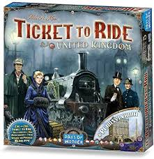 Ticket to Ride: United Kingdom Image