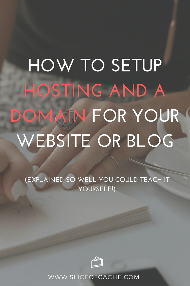 How to Setup Hosting and a Domain For Your Website - Explained so well, you could teach it yourself!
