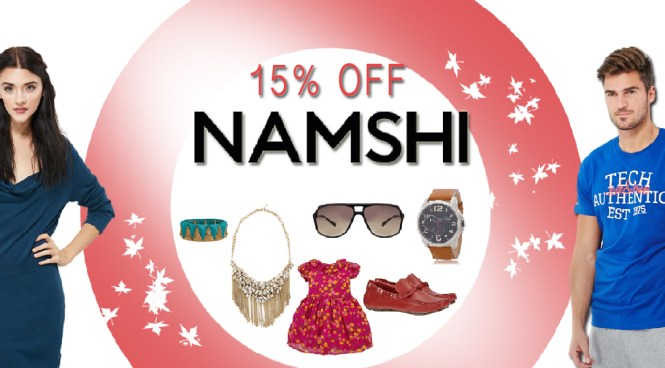 Click here for Namshi 15% discount coupon