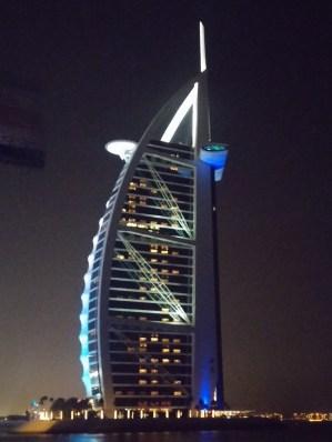 View of Burj al Arab from 360 degrees
