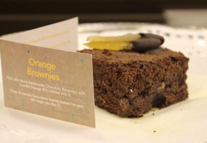 Orange Brownie from Brownie Blues