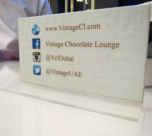 Vintage chocolate lounge contact details