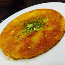 Kunafa at Al Shami Restaurant