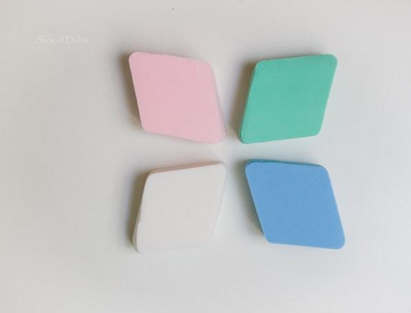 Makeup Sponges on Dubai Lifestyle blog