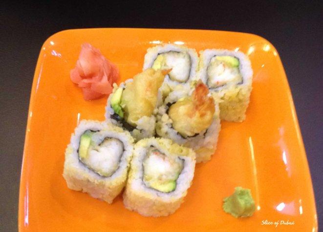 Prawn Tempura Sushi