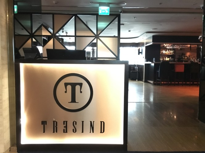 Tresind, Nasimi Royal Hotel, Sheikh Zayed road