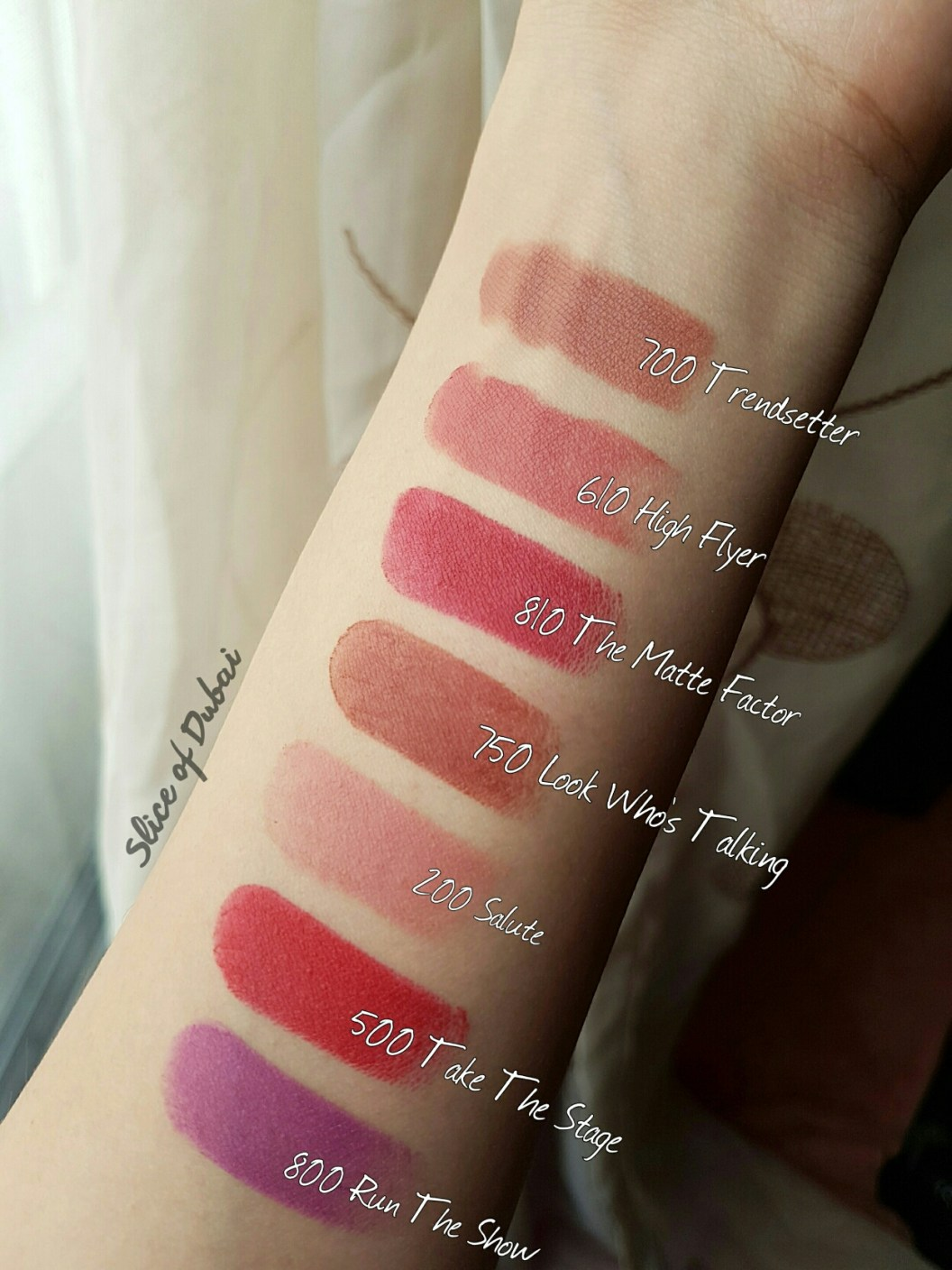 Review Rimmel London Only 1 Matte Lipsticks With Swatches Slice