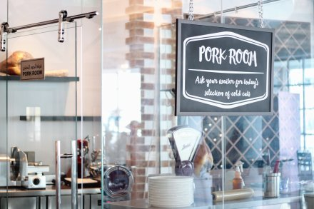 A special room for pork eaters
