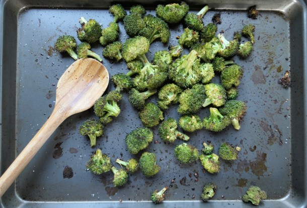 Lemon Roasted Broccoli - Slice of Honey Blog