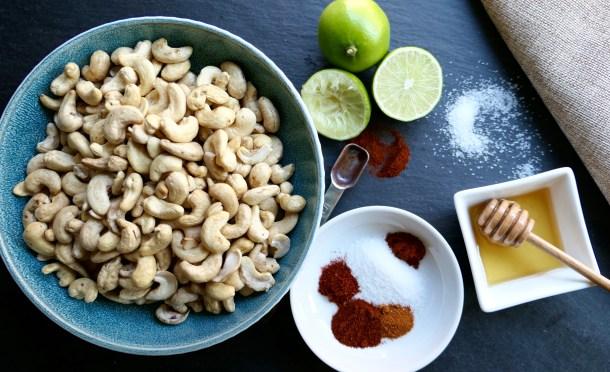 Chili Lime Roasted Cashews - Slice Of Honey Blog