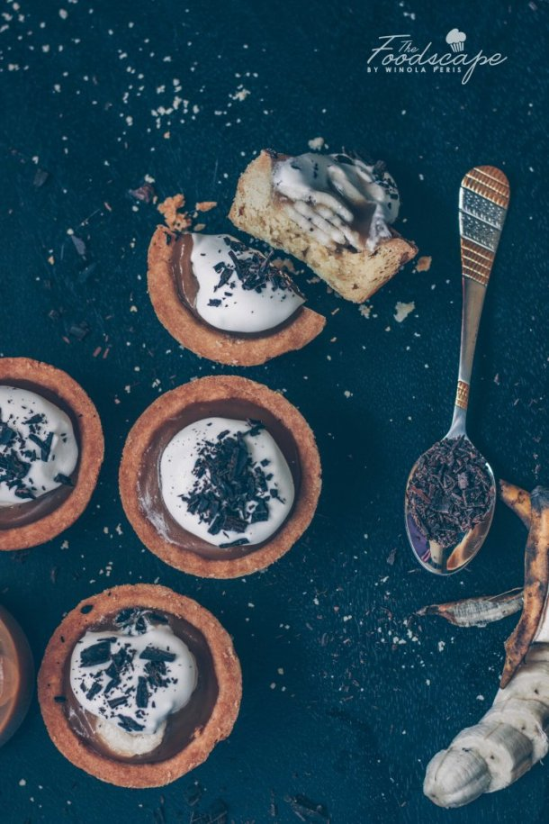 Vegan Banoffee Pies