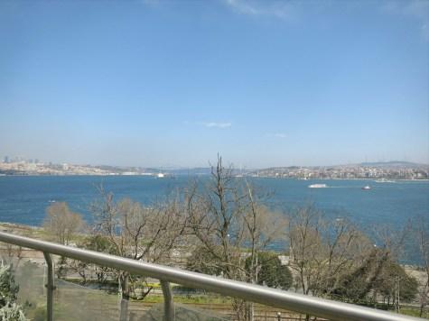The view from the tea garden in Gülhane Parkı