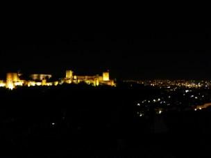 Lahambra at night