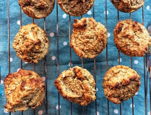 Banan Daddel Muffins